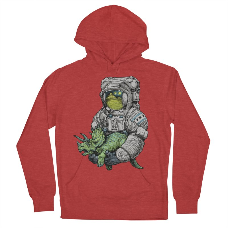 Astro Dino Women's Pullover Hoody by Octophant's Artist Shop