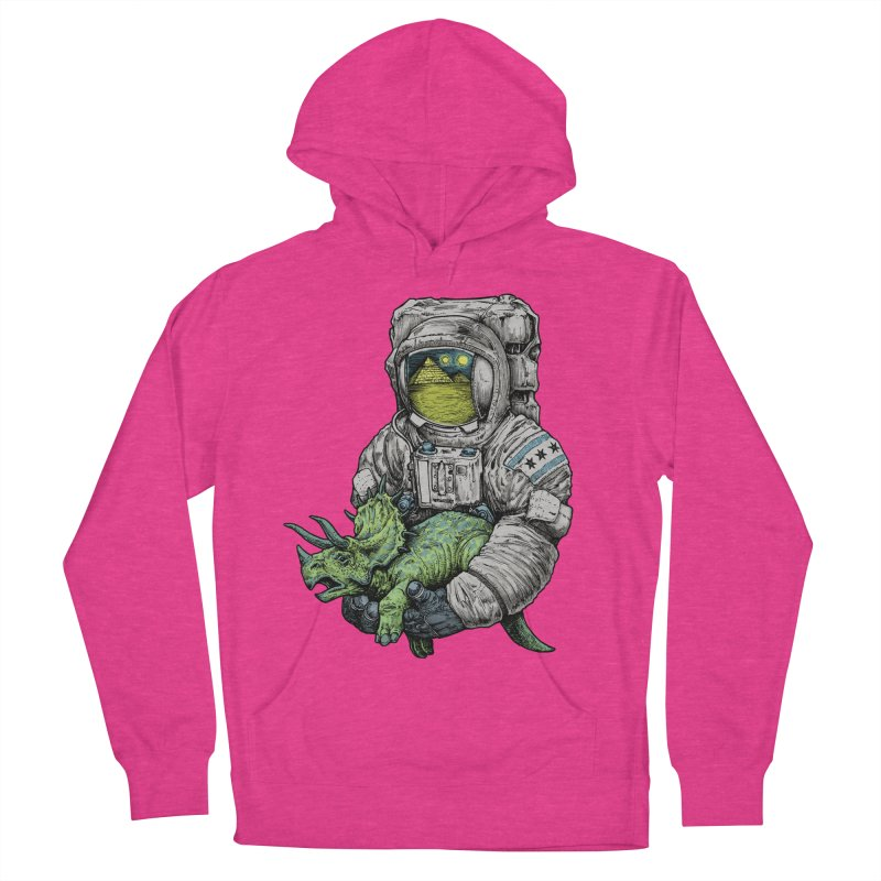Astro Dino Men's Pullover Hoody by Octophant's Artist Shop