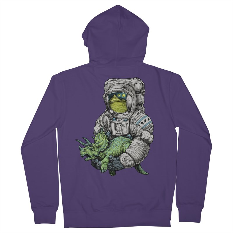 Astro Dino Women's Zip-Up Hoody by Octophant's Artist Shop