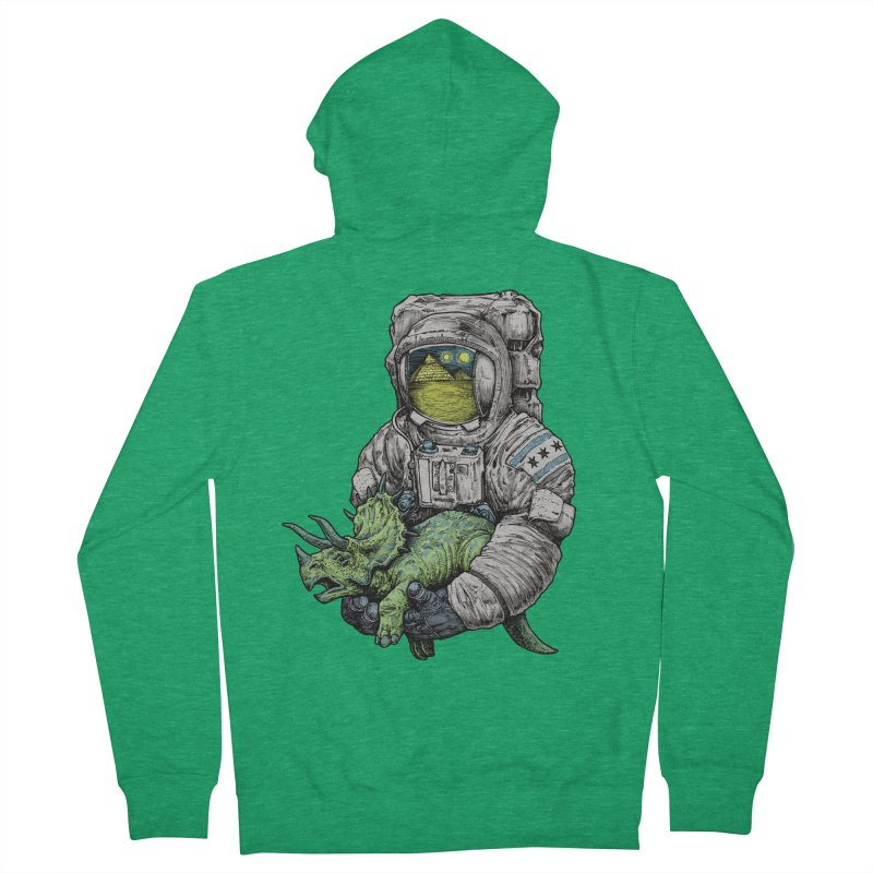 Astro Dino Men's Zip-Up Hoody by Octophant's Artist Shop
