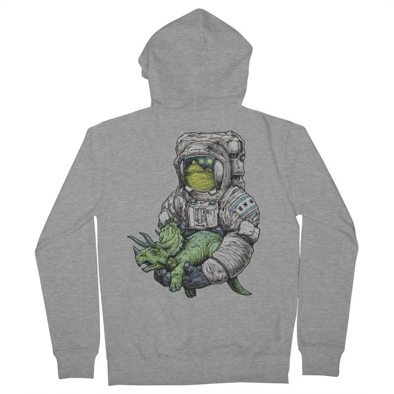 Astro Dino Men's Zip-Up Hoody by Octophant's Artist Shop