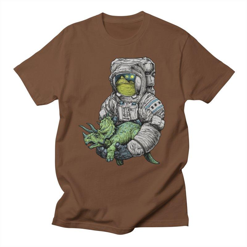 Astro Dino Men's T-shirt by Octophant's Artist Shop