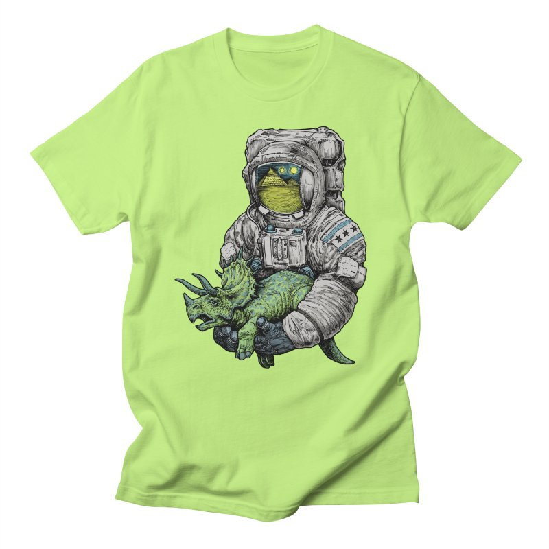 Astro Dino Men's Regular T-Shirt by Octophant's Artist Shop