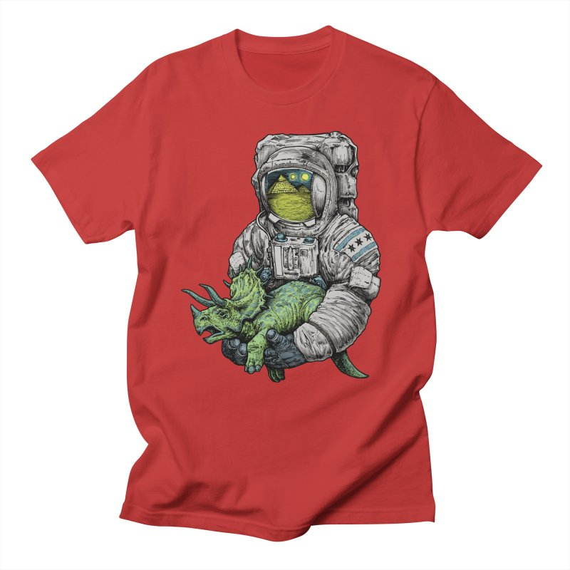 Astro Dino Women's Unisex T-Shirt by Octophant's Artist Shop