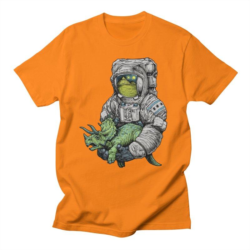 Astro Dino Women's Regular Unisex T-Shirt by Octophant's Artist Shop
