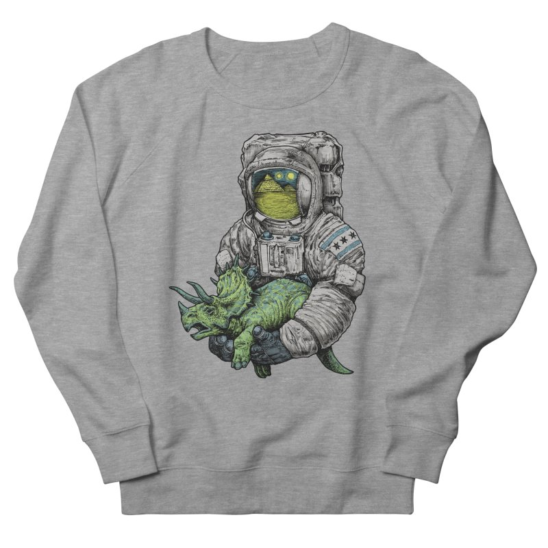 Astro Dino Women's French Terry Sweatshirt by Octophant's Artist Shop