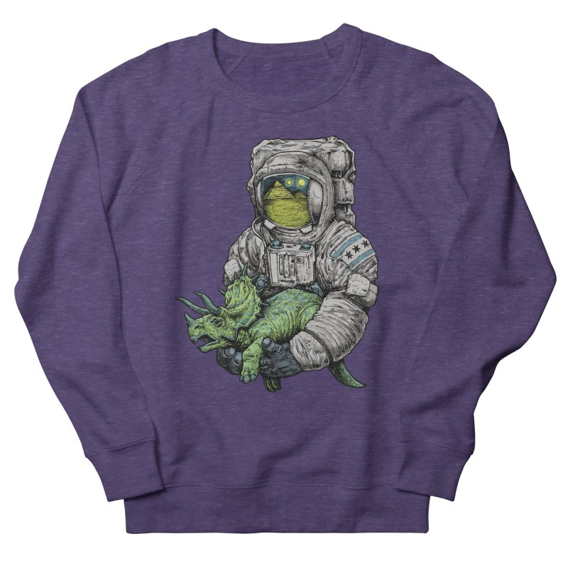 Astro Dino Men's French Terry Sweatshirt by Octophant's Artist Shop