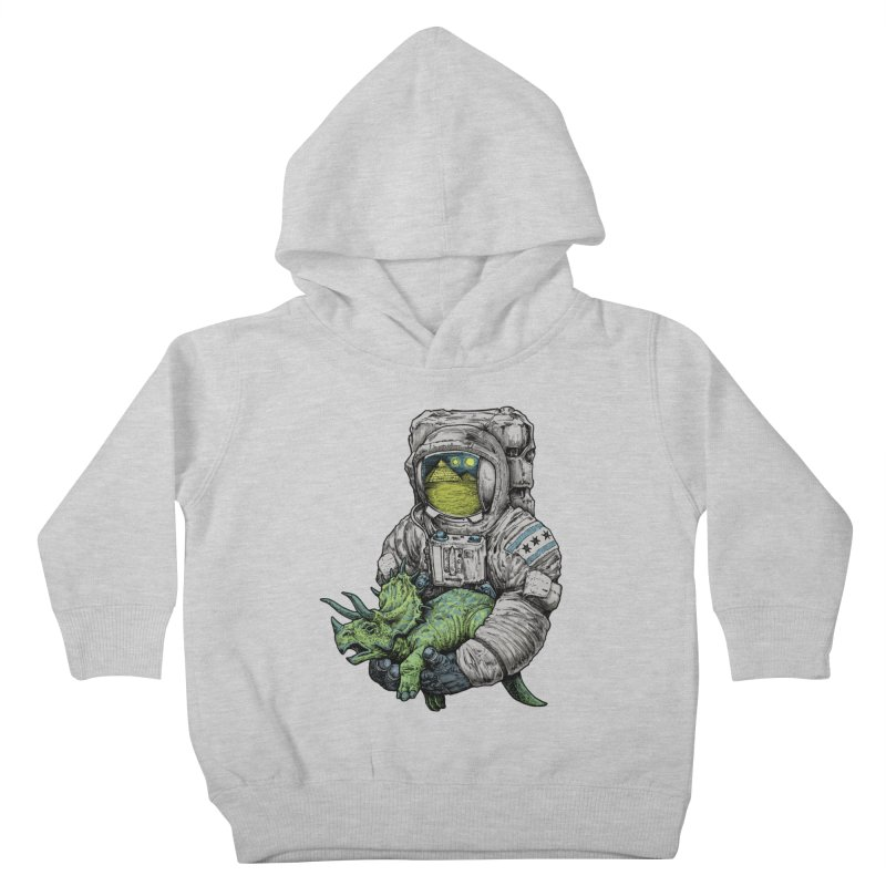 Astro Dino Kids Toddler Pullover Hoody by Octophant's Artist Shop
