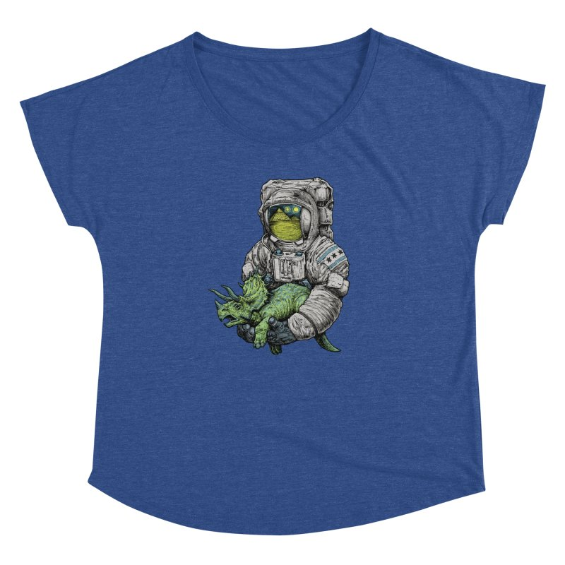 Astro Dino Women's Dolman by Octophant's Artist Shop
