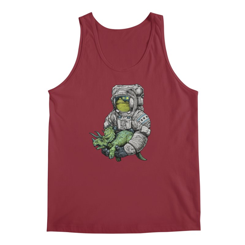 Astro Dino Men's Tank by Octophant's Artist Shop