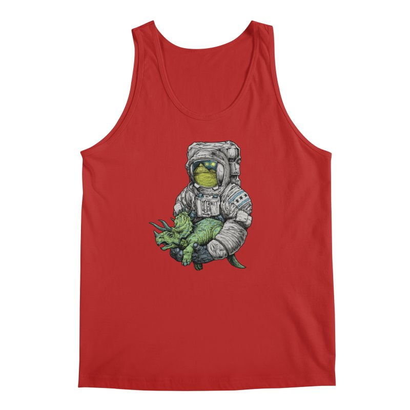 Astro Dino Men's Tank by Octophant's Artist Shop