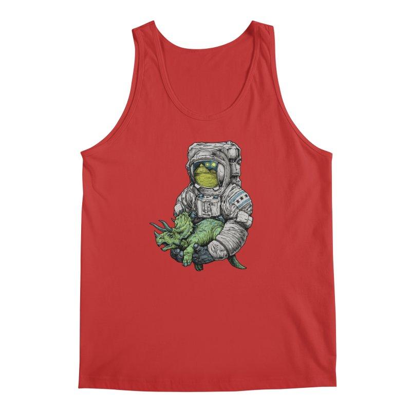 Astro Dino Men's Regular Tank by Octophant's Artist Shop
