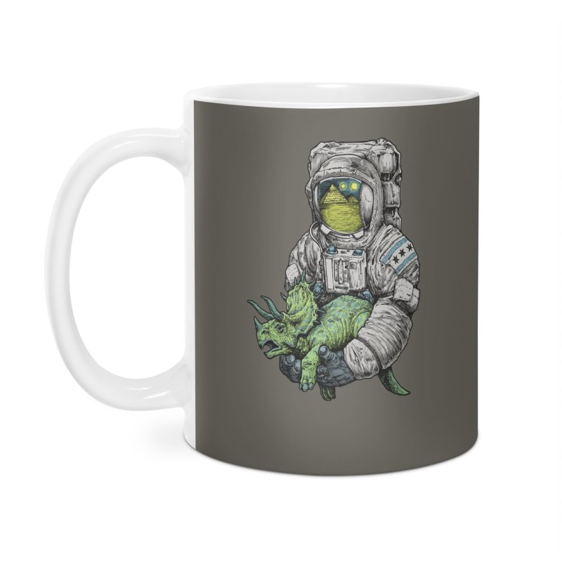 Astro Dino Accessories Mug by Octophant's Artist Shop