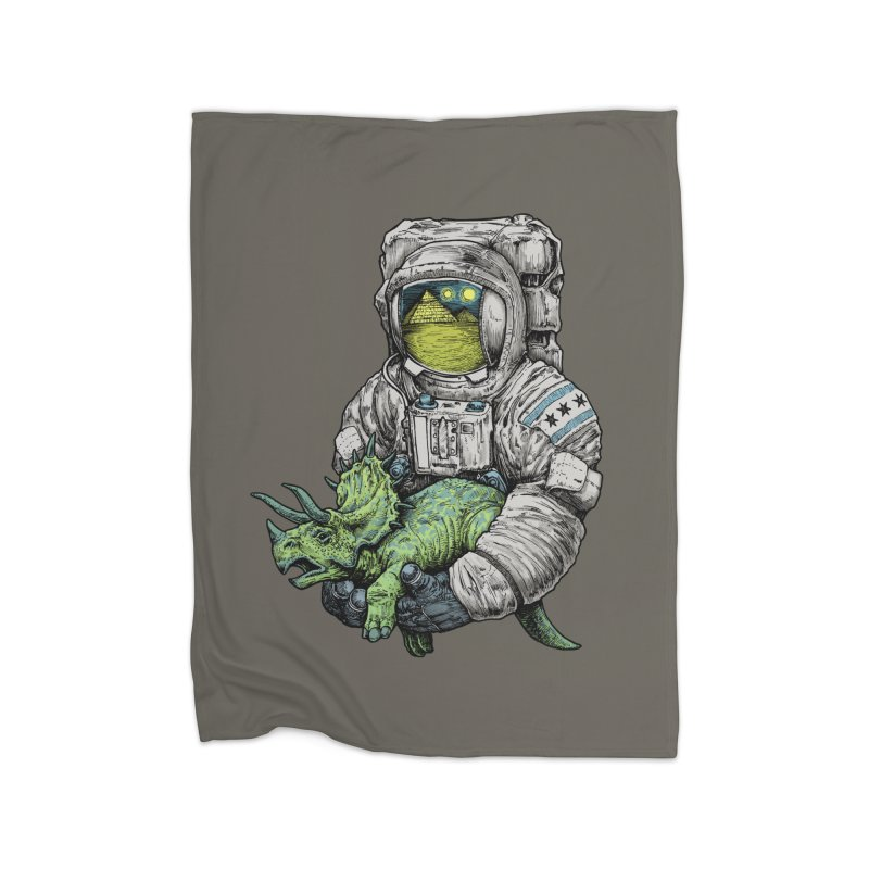Astro Dino Home Blanket by Octophant's Artist Shop