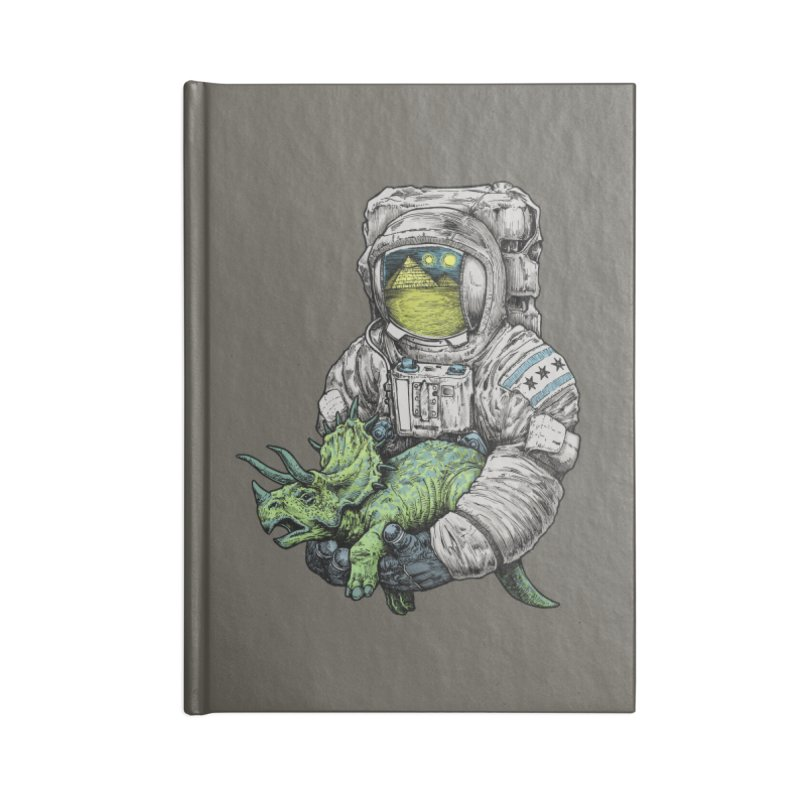 Astro Dino Accessories Notebook by Octophant's Artist Shop