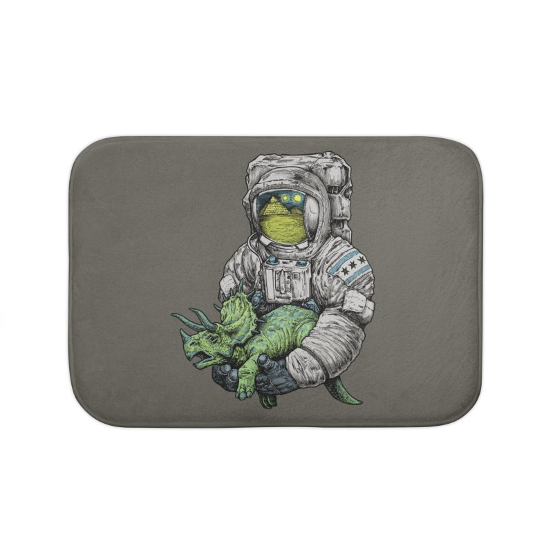 Astro Dino Home Bath Mat by Octophant's Artist Shop