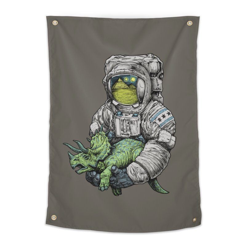 Astro Dino Home Tapestry by Octophant's Artist Shop