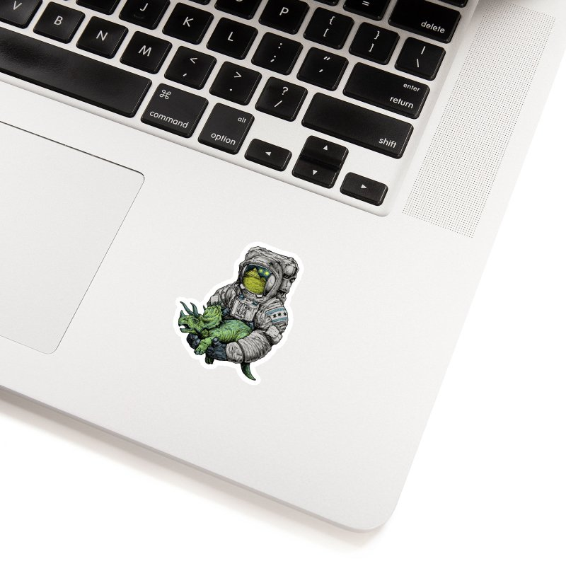 Astro Dino Accessories Sticker by Octophant's Artist Shop