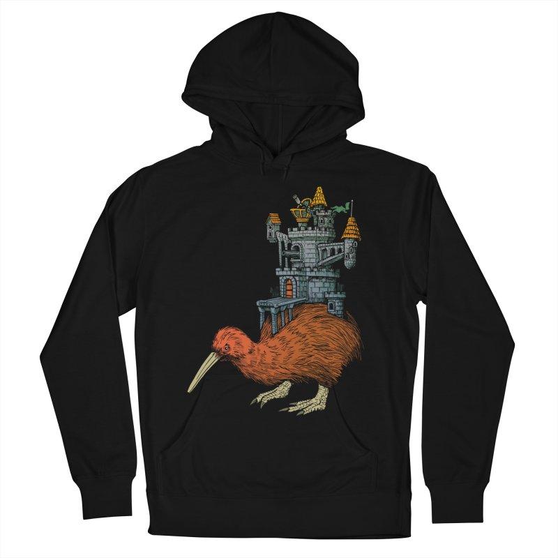 Kiwi Castle Men's Pullover Hoody by Octophant's Artist Shop