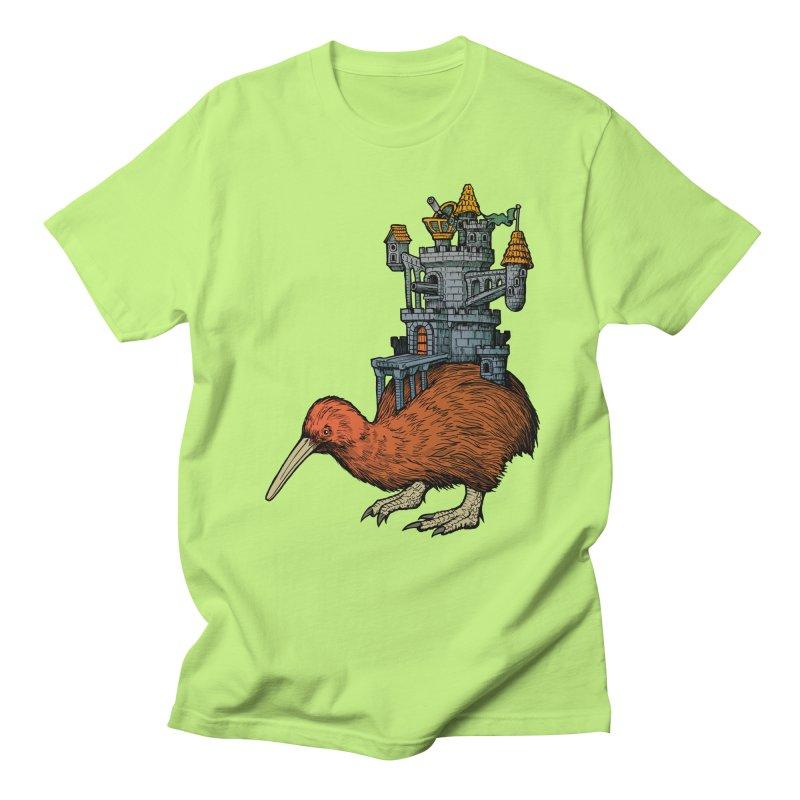 Kiwi Castle Women's Unisex T-Shirt by Octophant's Artist Shop
