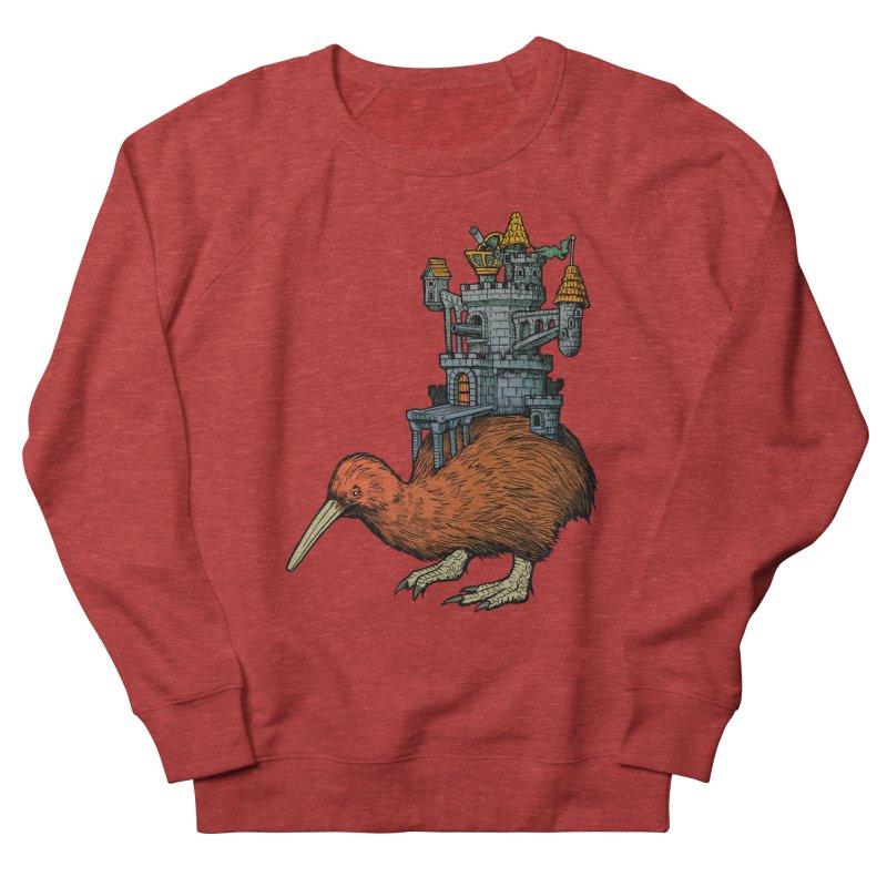 Kiwi Castle Women's Sweatshirt by Octophant's Artist Shop