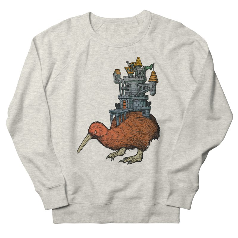 Kiwi Castle Men's Sweatshirt by Octophant's Artist Shop