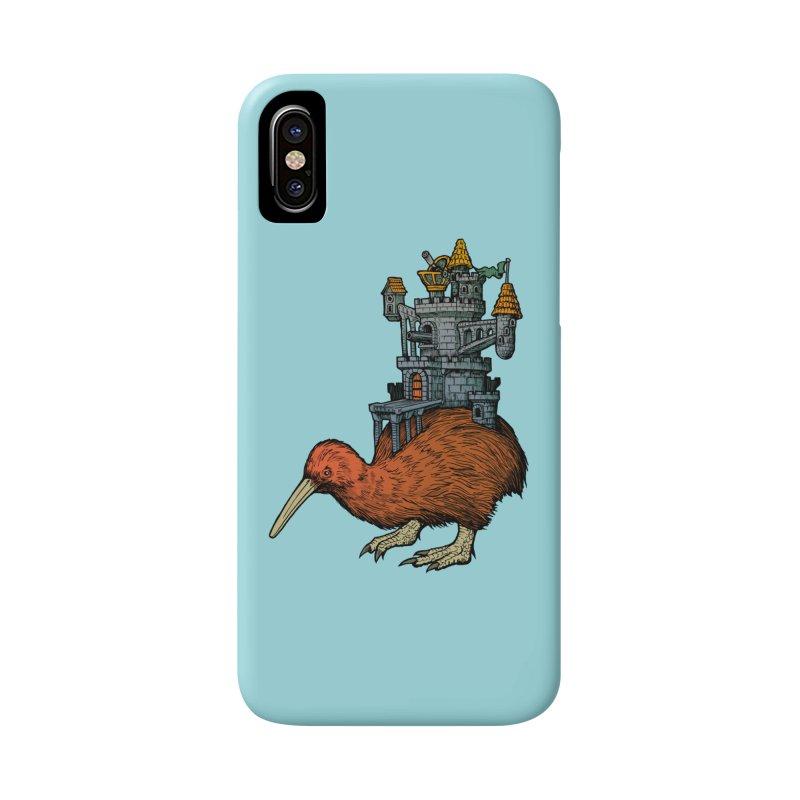 Kiwi Castle Accessories Phone Case by Octophant's Artist Shop