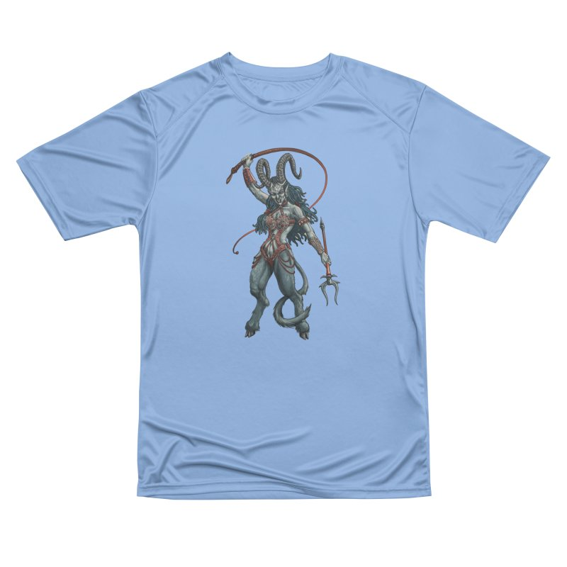Krampus Pinup (Leather) Men's T-Shirt by Octophant's Artist Shop