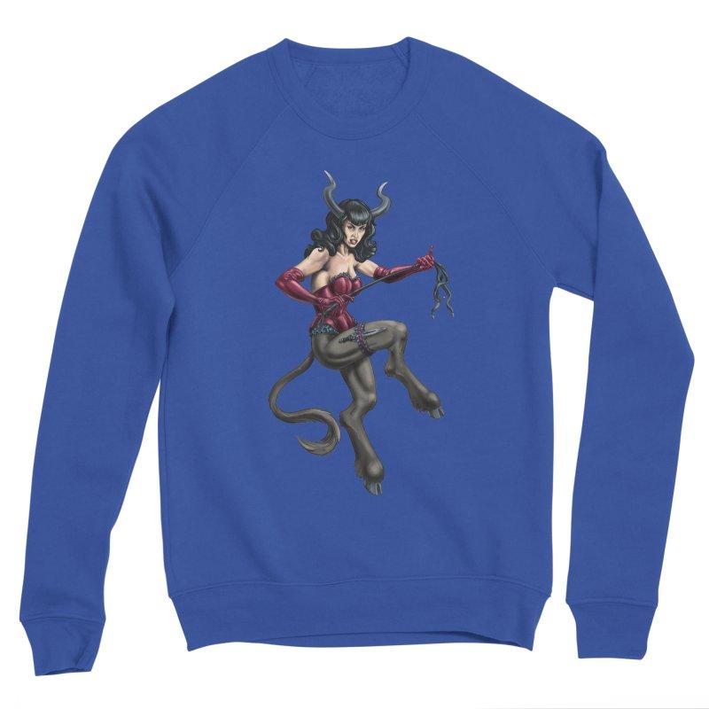 Krampus Pinup (Satin) Women's Sweatshirt by Octophant's Artist Shop