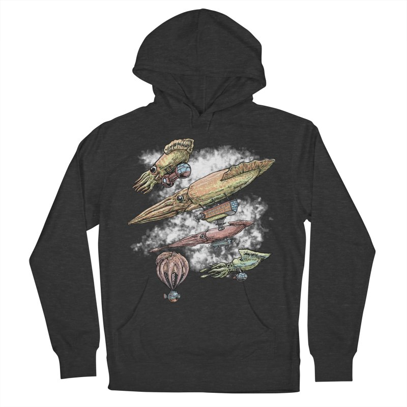 Squidirigibles Women's Pullover Hoody by Octophant's Artist Shop