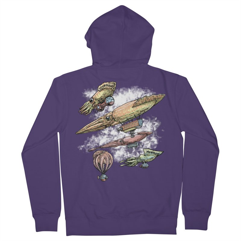 Squidirigibles Women's Zip-Up Hoody by Octophant's Artist Shop
