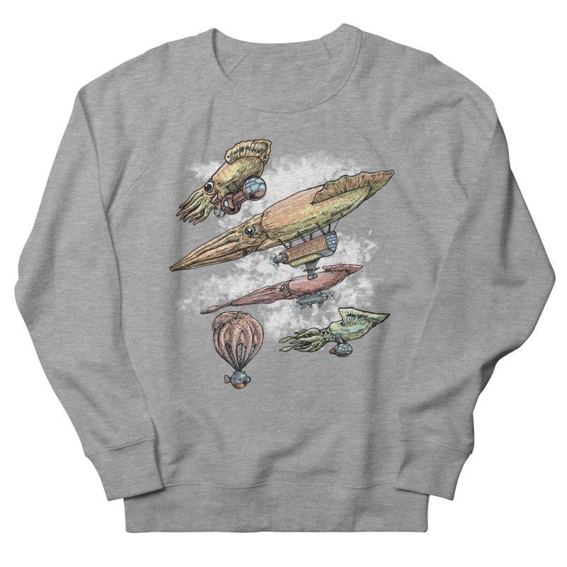 Squidirigibles Women's Sweatshirt by Octophant's Artist Shop