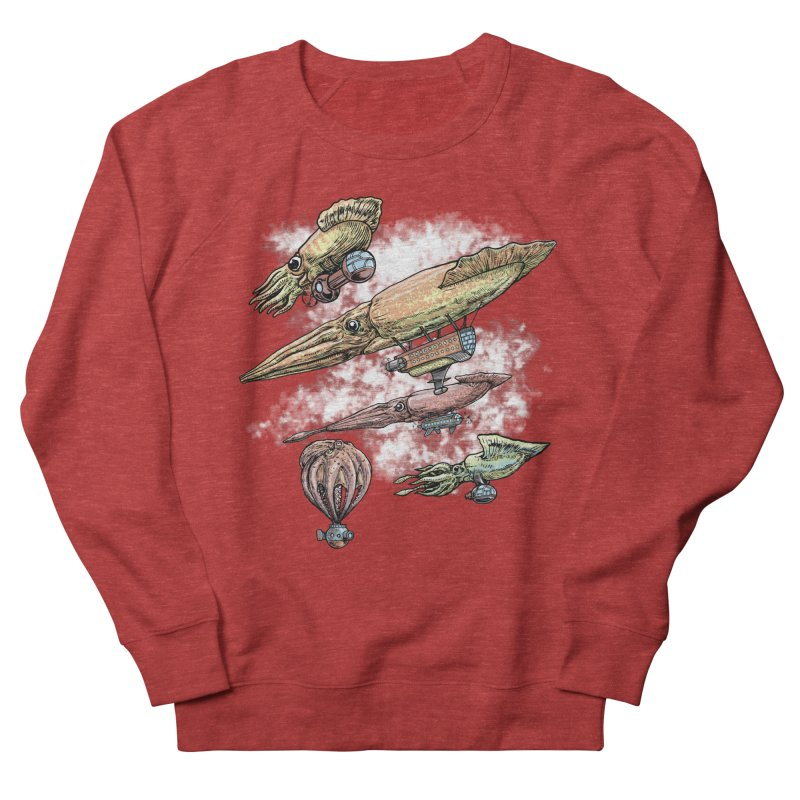 Squidirigibles Men's Sweatshirt by Octophant's Artist Shop