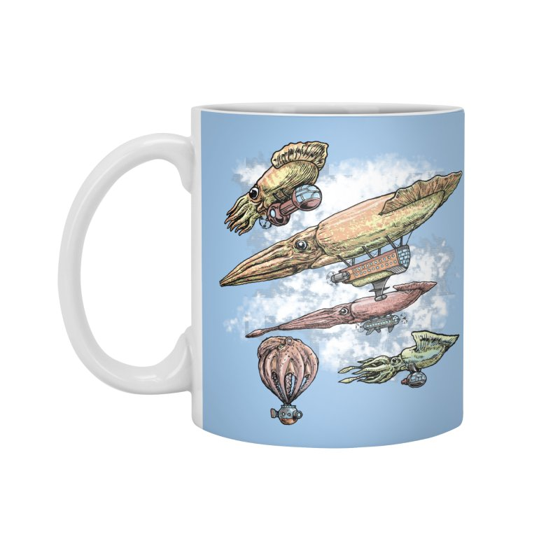 Squidirigibles Accessories Mug by Octophant's Artist Shop