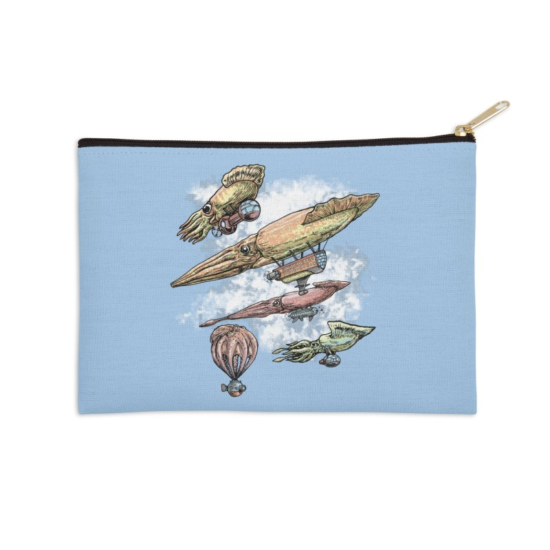 Squidirigibles Accessories Zip Pouch by Octophant's Artist Shop