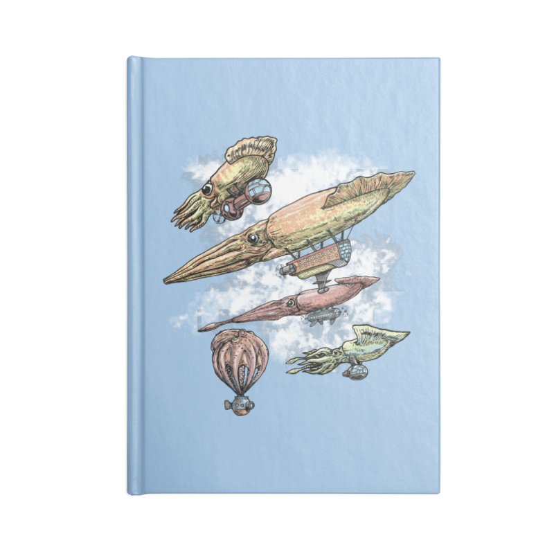 Squidirigibles Accessories Notebook by Octophant's Artist Shop