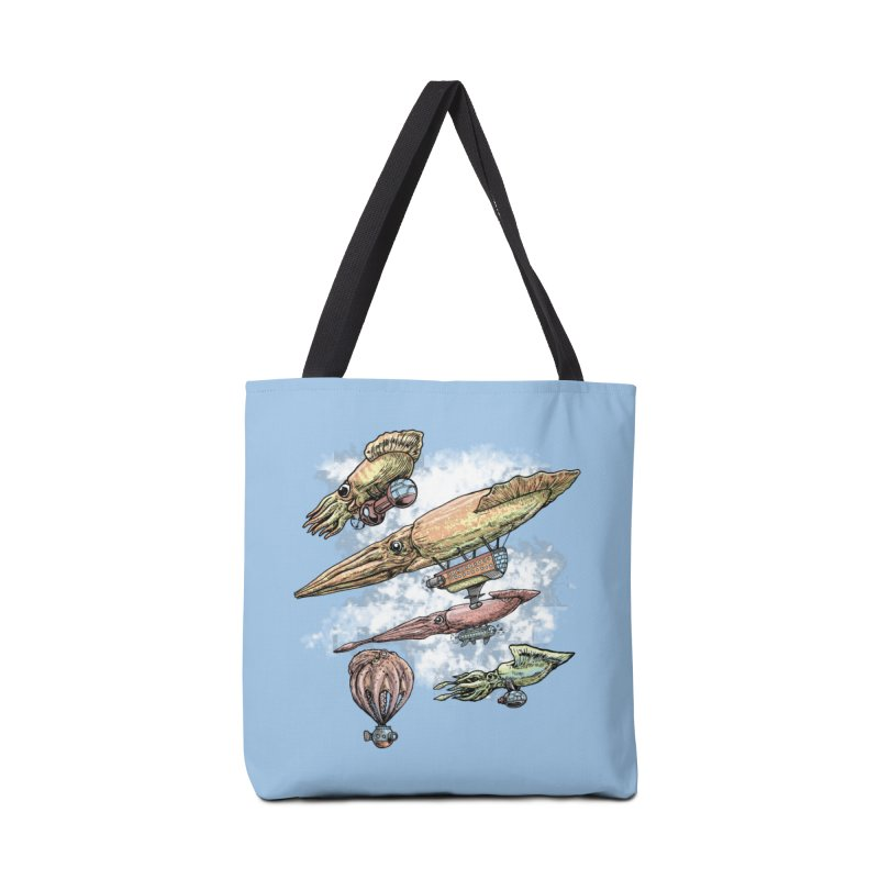 Squidirigibles Accessories Bag by Octophant's Artist Shop