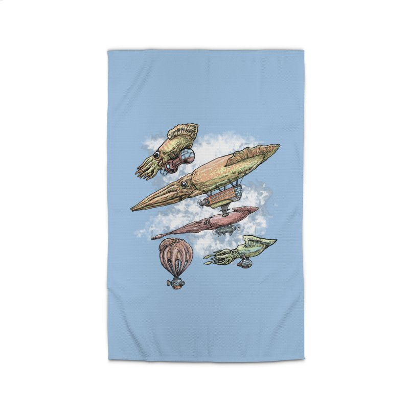 Squidirigibles Home Rug by Octophant's Artist Shop