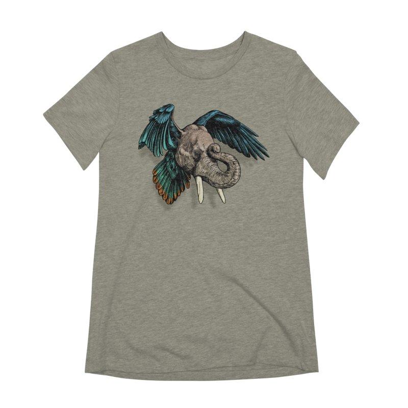 Rooktophant Women's Extra Soft T-Shirt by Octophant's Artist Shop
