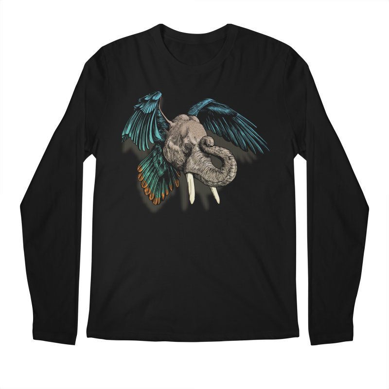 Rooktophant Men's Regular Longsleeve T-Shirt by Octophant's Artist Shop