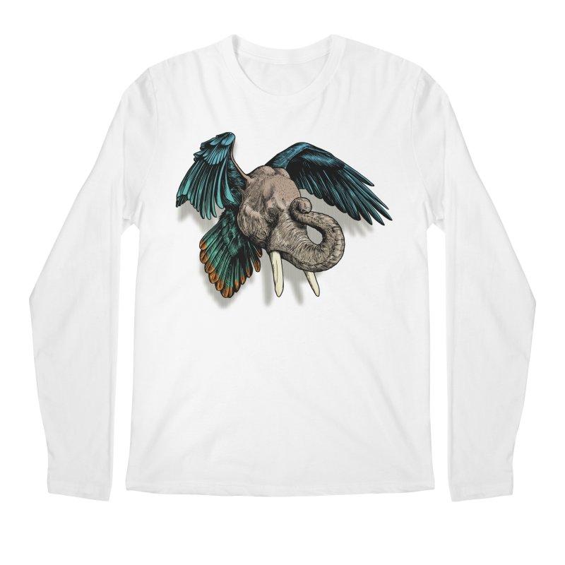 Rooktophant Men's Longsleeve T-Shirt by Octophant's Artist Shop