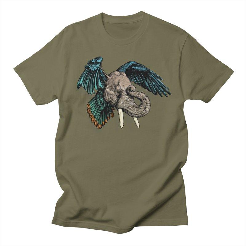 Rooktophant Men's T-shirt by Octophant's Artist Shop