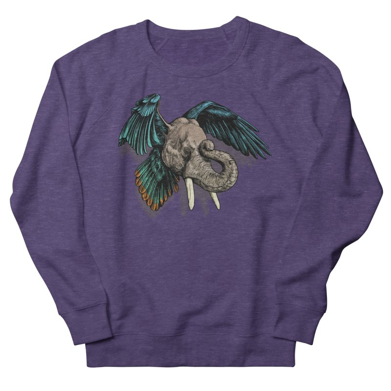 Rooktophant Men's French Terry Sweatshirt by Octophant's Artist Shop