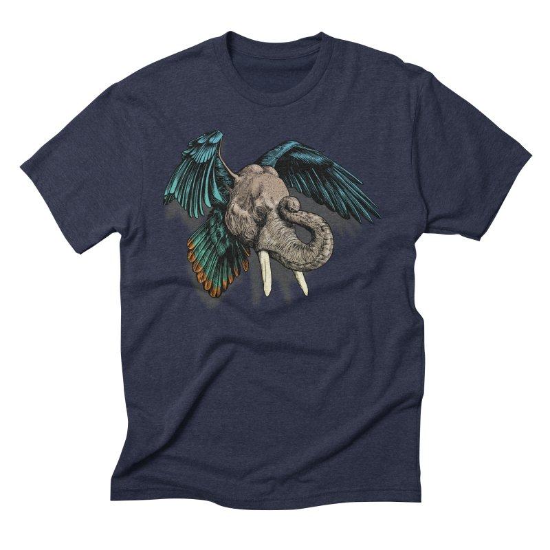 Rooktophant Men's Triblend T-Shirt by Octophant's Artist Shop