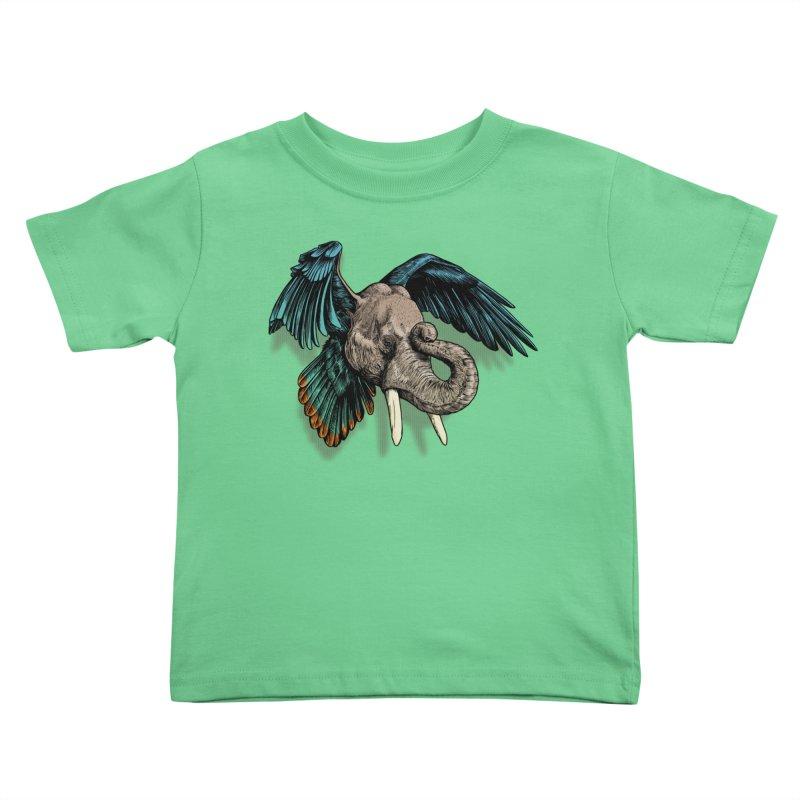 Rooktophant Kids Toddler T-Shirt by Octophant's Artist Shop