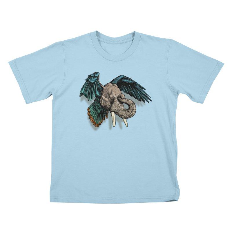 Rooktophant Kids T-Shirt by Octophant's Artist Shop