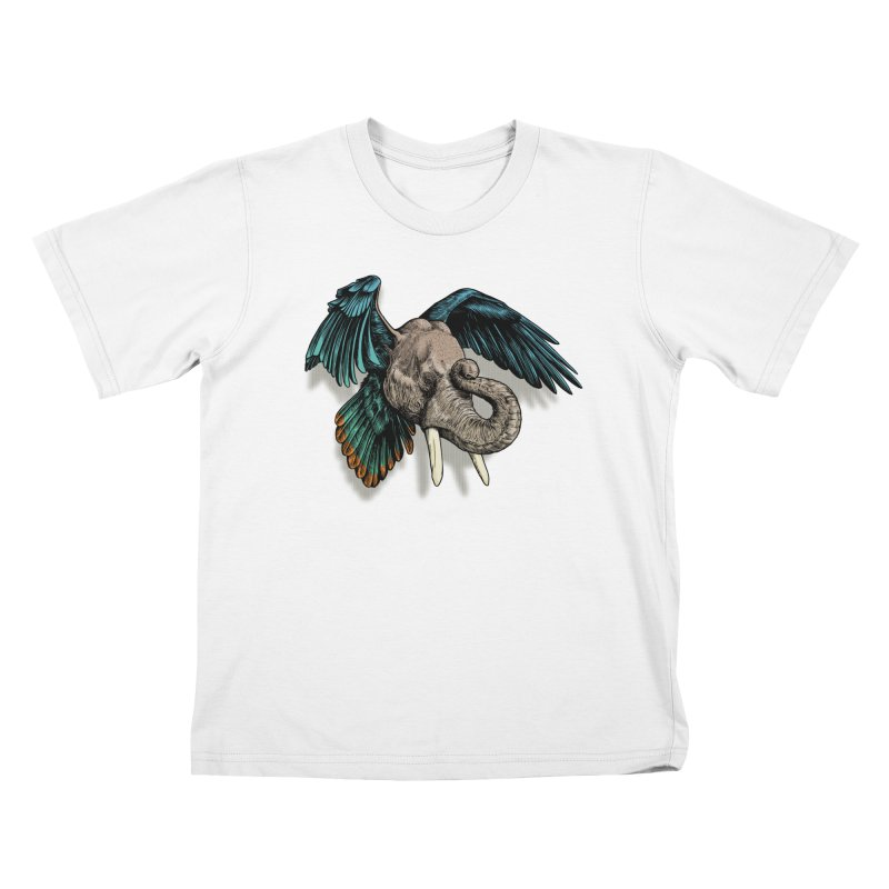 Rooktophant Kids T-Shirt by Octophant's Artist Shop