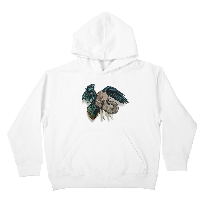 Rooktophant Kids Pullover Hoody by Octophant's Artist Shop