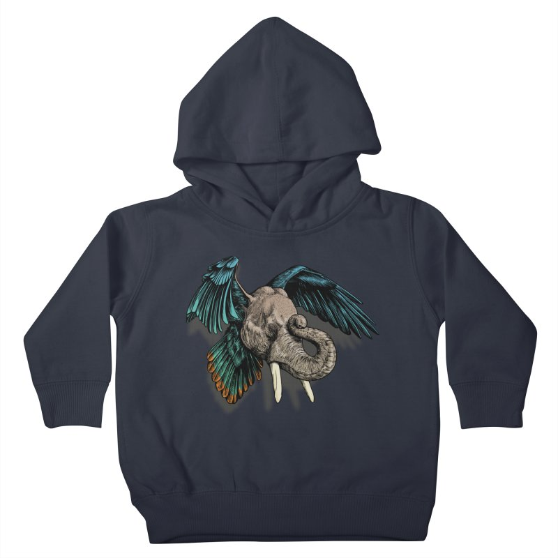 Rooktophant Kids Toddler Pullover Hoody by Octophant's Artist Shop