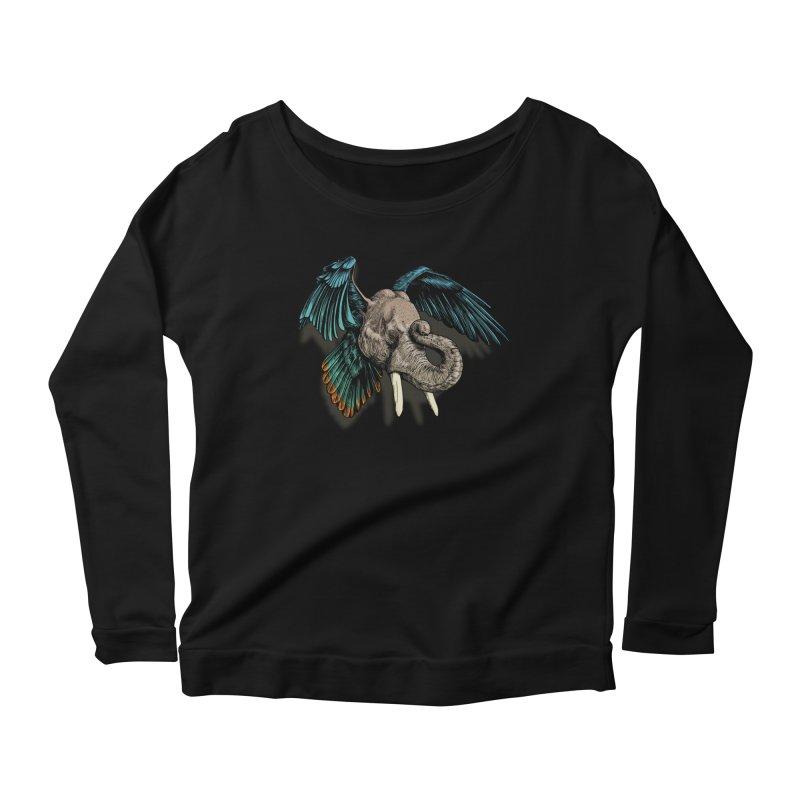 Rooktophant Women's Longsleeve T-Shirt by Octophant's Artist Shop
